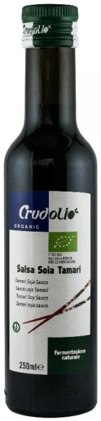 Sos de soia Bio Tamari 250 ml Crudolio [1]