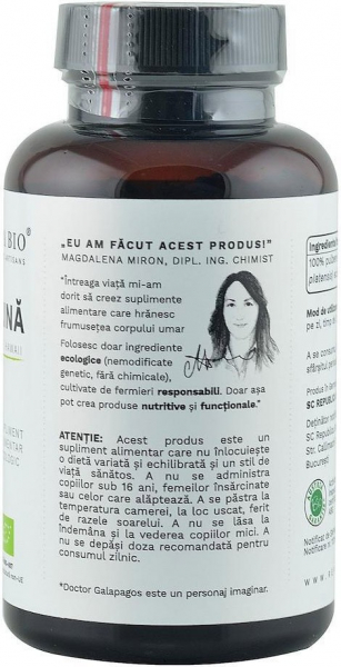 Spirulina bio de Hawaii (400 mg), 300 tablete (120 g) [2]