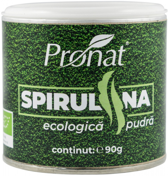 Spirulina Bio Pulbere, 90G [0]