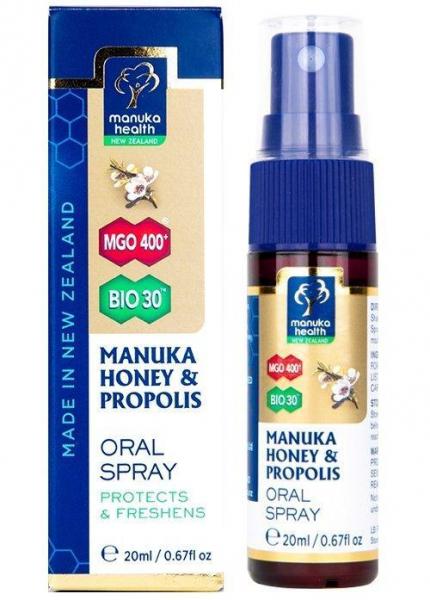 Spray oral miere de Manuka MGO 400+ UMF 13+ cu Propolis (20ml) [1]
