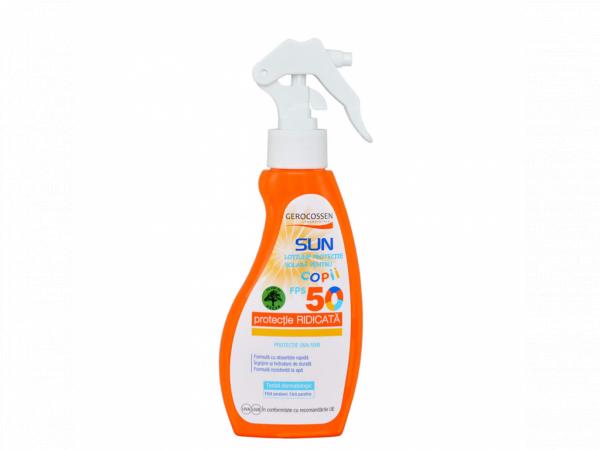 Spray protectie solara pentru copii SPF 50 Gerocossen Sun 200 ml [0]
