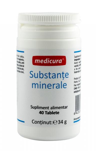 Substante minerale 40 capsule Medicura [0]