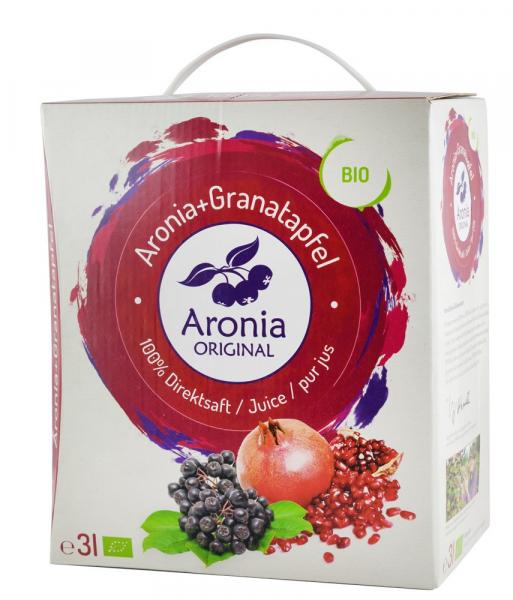 Suc BIO pur de Aronia cu Rodie, 3L Aronia Original [0]