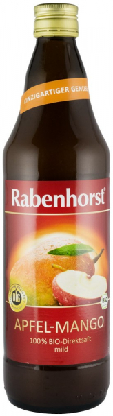 Suc Bio Pur De Mere Si Mango, 0.75 L Rabenhorst [0]
