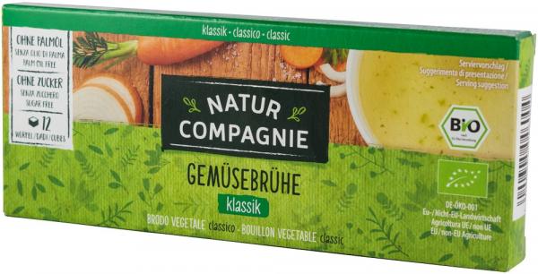 Supa bio concentrata de legume, 12 cuburi NATUR COMPAGNIE [0]