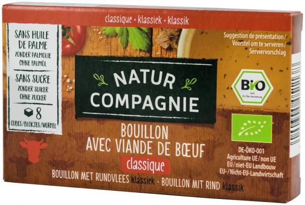 Supa bio cu carne de vita, 96 g NATUR COMPAGNIE [0]