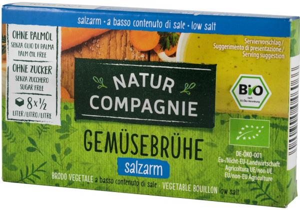 Supa bio de legume cu putina sare, 8 cuburi NATUR COMPAGNIE [0]