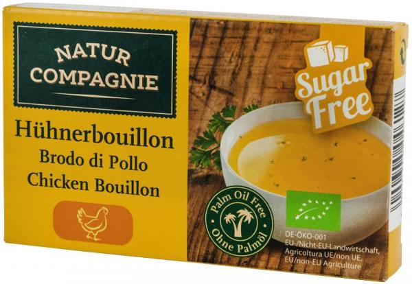 Supa bio de pui, 8 cuburi NATUR COMPAGNIE [0]
