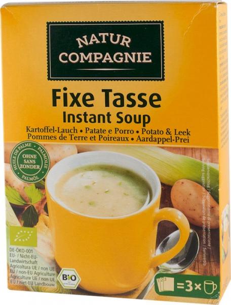 Supa bio instant de cartofi cu praz, 60 g NATUR COMPAGNIE [0]