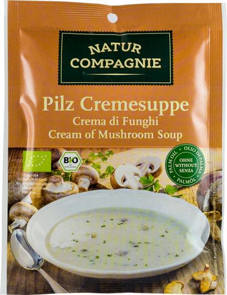 Supa crema de ciuperci, bio, 40 g NATUR COMPAGNIE [0]