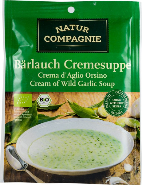 Supa crema de leurda, bio, 40 g NATUR COMPAGNIE [0]