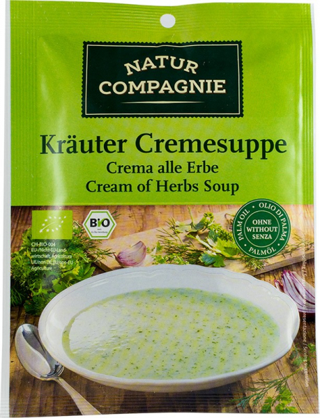 Supa crema de verdeturi, bio, 38 g NATUR COMPAGNIE [0]