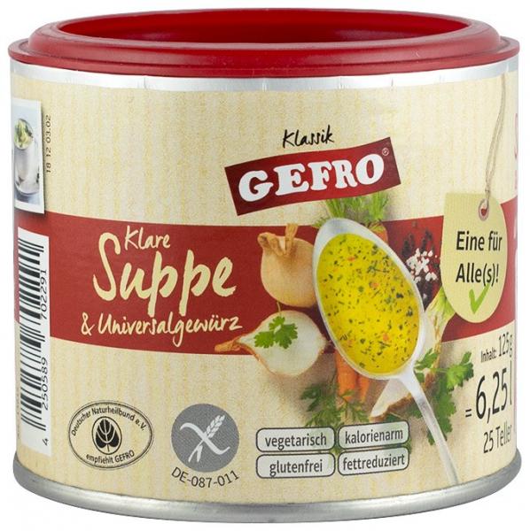 Supa De Legume Si Condiment Universal, 125G Gefro [0]