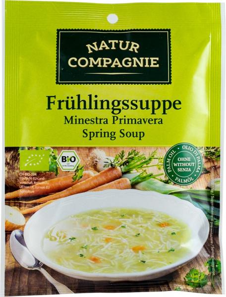 Supa de primavara, bio, 37 g NATUR COMPAGNIE [0]