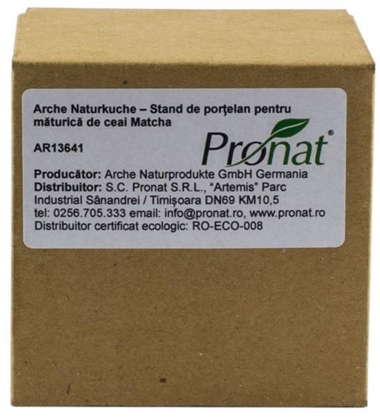 Suport de portelan pentru maturica de ceai Matcha Arche Naturkuche [5]
