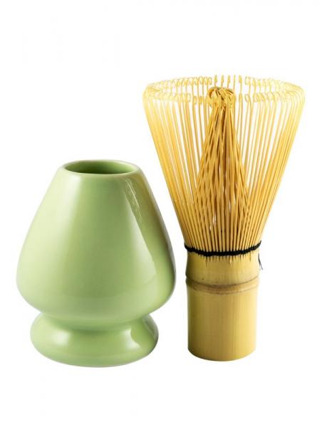 Suport de portelan pentru maturica de ceai Matcha Arche Naturkuche [2]