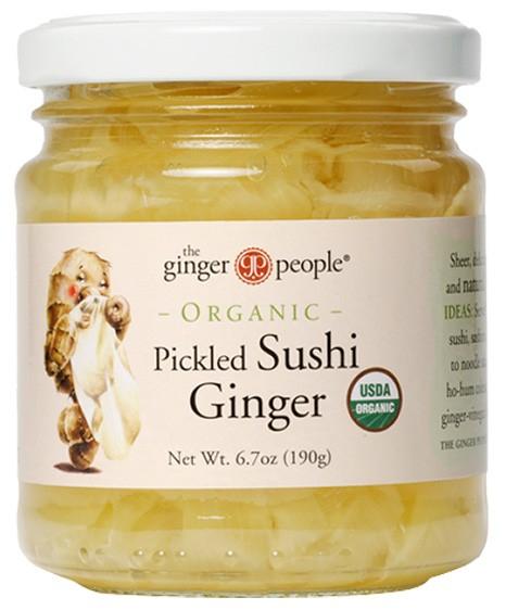 The ginger party - Ghimbir pentru sushi, 190g/118g [0]