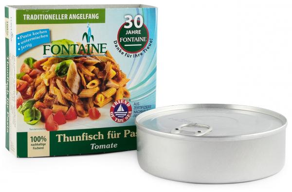 Ton pentru paste cu tomate, 200g Fontaine [0]