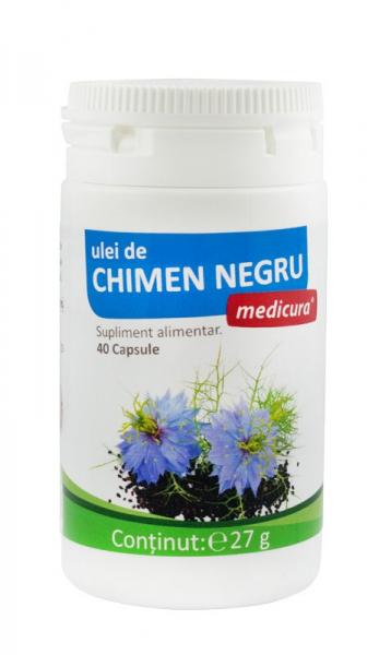 Ulei de chimen negru, 40 capsule  Medicura [0]