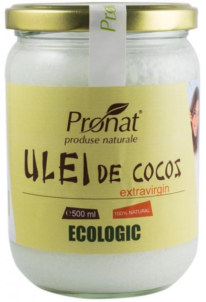 Ulei de cocos Bio extravirgin, 500 ml [0]