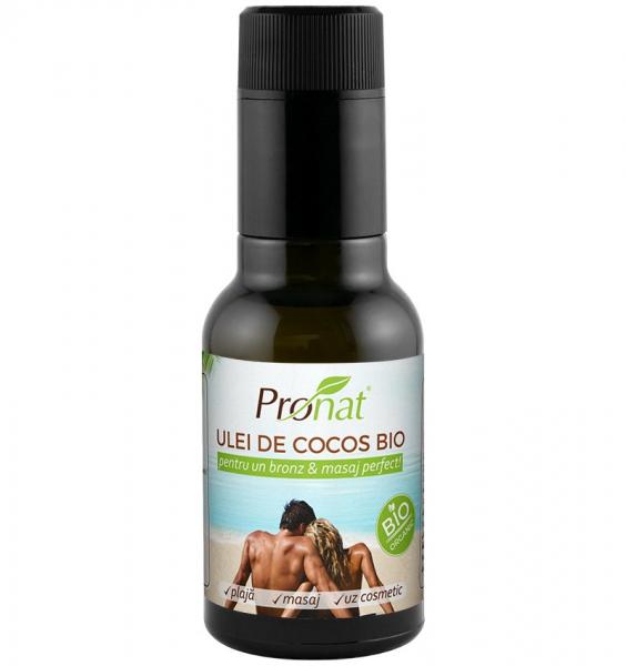Ulei de cocos Bio extravirgin pentru uz cosmetic, 100 ml [0]