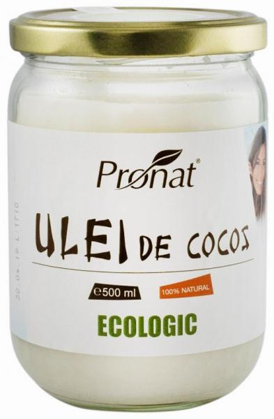 Ulei de cocos RBD Bio, 500 ml [0]