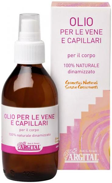 Ulei de corp pentru vene si capilare, 125 ml Argital [0]