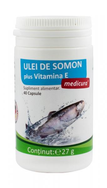 Ulei de somon 40 capsule  Medicura [0]