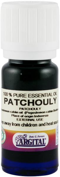Ulei esential de patchouly, 10 ml Argital [0]