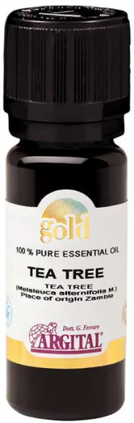 Ulei esential din arbore de ceai - Melaleuca, 10 ml Argital Gold [0]