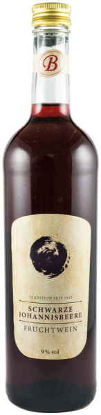 Vin de coacaze negre 9% vol.alcool, 750 ml Bavaria Waldfrucht [0]