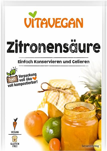 Vitavegan - Acid citric, 10g Biovegan [0]