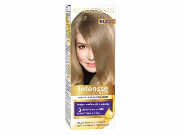 Vopsea de par permanenta Intensse Color 10.2 Blond Inchis - 50 ml [0]