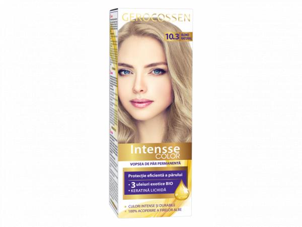 Vopsea de par permanenta Intensse Color 10.3 Blond Natural - 50 ml [0]