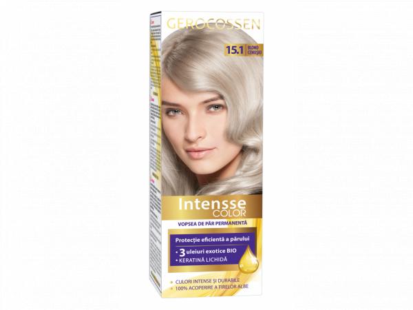 Vopsea de par permanenta Intensse Color 15.1 Blond Cenusiu - 50 ml [0]