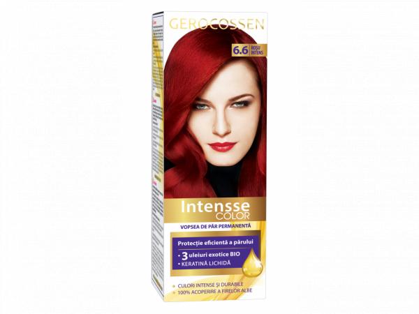 Vopsea de par permanenta Intensse Color 6.6 Rosu Intens - 50 ml [0]