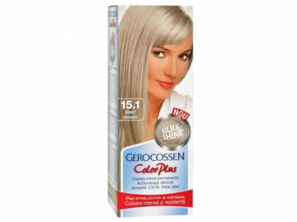 Vopsea de par Silk&Shine 15.1 Blond Cenusiu - Color Plus 50g [0]