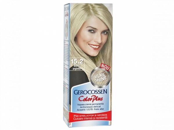 Vopsea de par Silk&Shine 15.2 Blond Argintiu - Color Plus 50g [0]