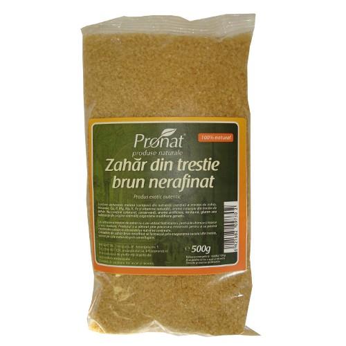 Zahar brun din trestie nerafinat, Raw, 500 g [0]