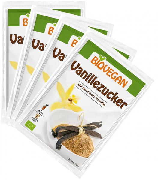 Zahar vanilat Bio, 4*8 g Biovegan [0]