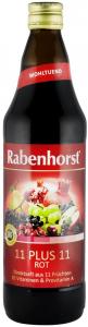 ,,11 PLUS 11 ROSU SUC DE FRUCTE, 0.75L RABENHORST [0]