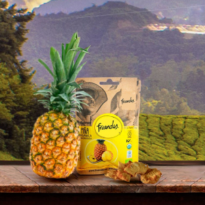 Ananas deshidratat bio, 30g Juan Valdez [2]