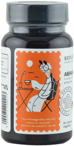 Ashwagandha bio din India (400 mg) - extract 5%, 60 capsule (29,7 g) [1]