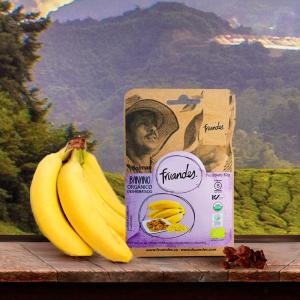 Baby banane deshidratate bio, 30g Juan Valdez [2]
