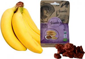 Baby banane deshidratate bio, 30g Juan Valdez [1]