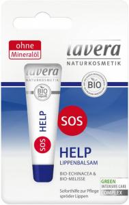Balsam de buze BIO cu echinaceea si roinita - SOS Help, 8 ml Lavera [0]