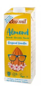 Bautura BIO de migdale cu aroma de vanilie, 1 l Ecomil [0]