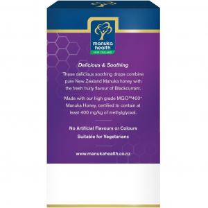 Bomboane miere Manuka MGO 400+ UMF 13+ (65g) : coacaze + vitamina C [2]