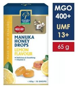 Bomboane miere Manuka MGO 400+ UMF 13+ (65g): lamaie + vitamina C [0]