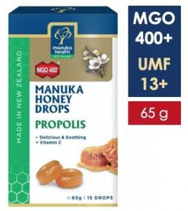 Bomboane miere Manuka MGO 400+ UMF 13+ (65g) : propolis + vitamina C [0]